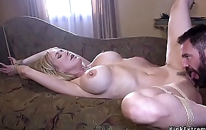 Big cock fan fucking Milf with huge tits