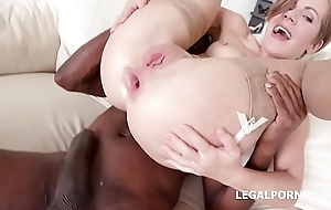 Big Butt slut Sasha Zima gets her tight holes DP'_ed &amp_ DAP'_ed to the extreme