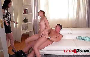 Sizzling hot vixens Chelsy Full knowledge &amp_ Crystal Greenvelle go for dirty cum swap GP346