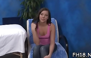 Hawt gives a hawt massage with a hawt surprise fuck!