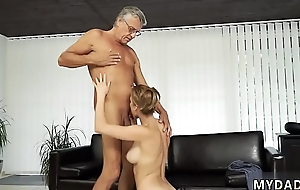 Age-old mature anal Sex fro her boycompanion´_s father after swimming