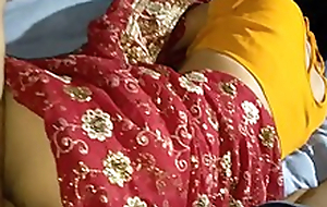 Indian lalita Singh  just married fucked give saree