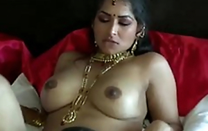 Fearfully turned on dark skinned Desi dude eats wet pussy be advisable for his GF