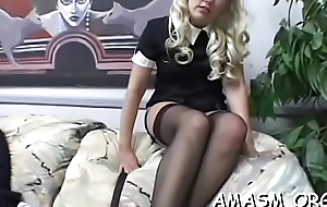 Teen forced to endure humiliation femdom by mature mama
