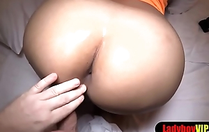 Thai ladyboy with perfect tits gets bareback fucked