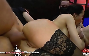 Ass in hot gangbang german randy fucked whores idea