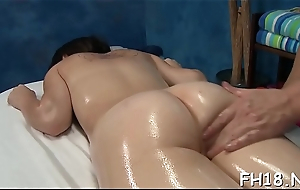 Unseemly girl screwed hard from behind and loving it