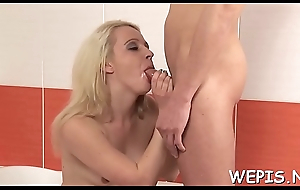 Fancy girls have a fun fur pie drilling adter pissing on camera