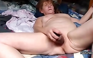 Grandma Kelly 59 cums like a vulcano