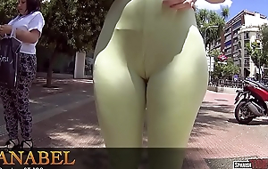 Massive ass and cameltoe leggings in stage a revive