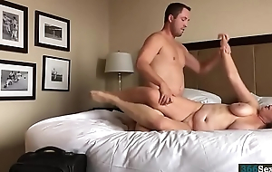 Hotel Sex with busty amateur Friend wife